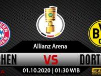 Prediksi Bola Munchen vs Dortmund 01 Oktober 2020