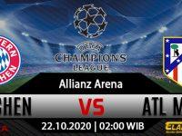 Prediksi Bola Bayern Munchen vs Atletico Madrid 22 Oktober 2020