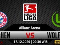 Prediksi Bola Bayern Munchen vs Wolfsburg 17 Desember 2020