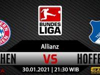 Prediksi Bola Bayern Munchen vs Hoffenheim 30 Januari 2021