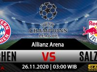 Prediksi Bola Bayern Munchen vs Salzburg 26 November 2020