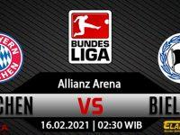 Prediksi Bola Bayern Munchen Vs Arminia Bielefeld 16 Februari 2021