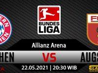 Prediksi Bola Bayern Munich vs Augsburg 22 Mei 2021