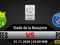 Prediksi Bola Nantes Vs PSG 01 November 2020