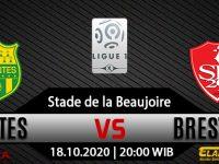 Prediksi Bola Nantes vs Brest 18 Oktober 2020