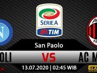 Prediksi Bola Napoli vs AC Milan 13 Juli 2020