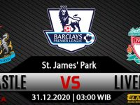 Prediksi Bola Newcastle United Vs Liverpool 31 Desember 2020