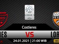 Prediksi Bola Nîmes Olympique VS Lorient 24 Januari 2021