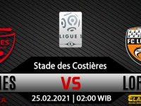 Prediksi Bola Nimes Vs Lorient 25 Februari 2021