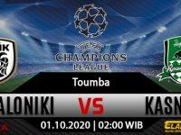 Prediksi Bola PAOK vs Krasnodar 01 Oktober 2020