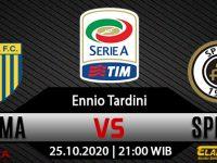 Prediksi Skor Parma vs Spezia 25 Oktober 2020