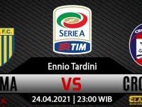 Prediksi Bola Parma vs Crotone 24 April 2021