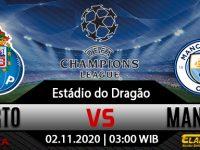Prediksi Bola FC Porto Vs Manchester City 02 Desember 2020
