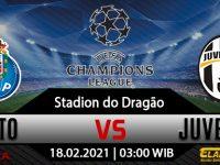 Prediksi Bola FC Porto Vs Juventus 18 Februari 2021