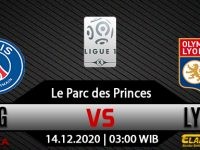 Prediksi Bola PSG Vs Olympique Lyonnais 14 Desember 2020