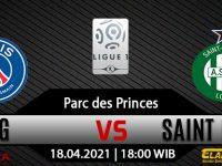 Prediksi Bola PSG vs Saint Etienne 18 April 2021