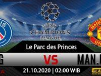 Prediksi Bola PSG vs Manchester United 21 Oktober 2020