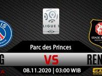 Prediksi Bola PSG vs Rennes 8 November 2020