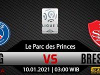 Prediksi Bola PSG vs Brest 10 Januari 2021