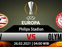 Prediksi Bola PSV Eindhoven vs Olympiakos 26 Februari 2021