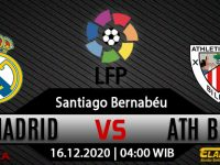 Prediksi Bola Real Madrid vs Athletic Bilbao 16 Desember 2020