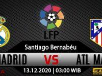 Prediksi Bola Real Madrid Vs Atletico Madrid 13 Desember 2020