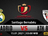 Prediksi Bola Real Madrid vs Athletic Bilbao 15 Januari 2021