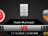 Prediksi Bola Reims vs Lorient 17 Oktober 2020