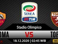 Prediksi Bola AS Roma vs Torino 18 Desember 2020