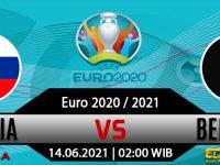Prediksi Bola Belgia vs Rusia Minggu 13 Juni 2021