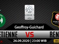 Prediksi Bola Saint Etienne vs Rennes 26 September 2020