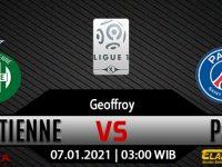 Prediksi Bola Saint-Etienne vs PSG 07 Januari 2021
