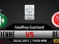 Prediksi Bola Saint-Etienne vs Reims 20 Februari 2021