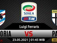 Prediksi Bola Sampdoria vs Parma 23 Mei 2021