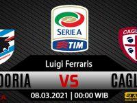 Prediksi Bola Sampdoria vs Cagliari 08 Maret 2021