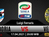 Prediksi Bola Sampdoria Vs Hellas Verona 17 April 2021