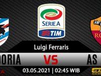 Prediksi Bola Sampdoria vs AS Roma 03 Mei 2021