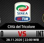 Prediksi Bola Sassuolo vs Inter Milan 28 November 2020