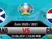 Prediksi Bola Scotland vs Croatia 23 Juni 2021