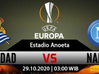 Prediksi Bola Real Sociedad vs Napoli 30 Oktober 2020