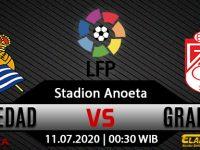 Prediksi Bola Real Sociedad Vs Granada 11 Juli 2020