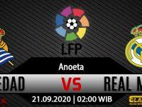 Prediksi Skor Real Sociedad vs Real Madrid 21 September 2020
