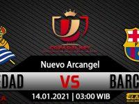 Prediksi Bola Real Sociedad vs Barcelona 14 Januari 2021