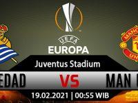 Prediksi Bola Real Sociedad vs Manchester United 19 Februari 2021