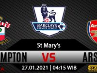 Prediksi Bola Southampton vs Arsenal 27 Januari 2021
