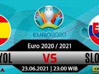 Prediksi Bola Spain vs Slovakia 23 Juni 2021