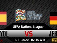 Prediksi Bola Spanyol vs Jerman 18 November 2020