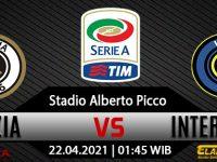Prediksi Bola Spezia Vs Inter Milan 22 April 2021