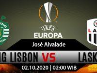 Prediksi Bola Sporting CP vs LASK Linz 2 Oktober 2020