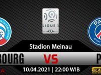 Prediksi Bola Strasbourg vs PSG 10 April 2021